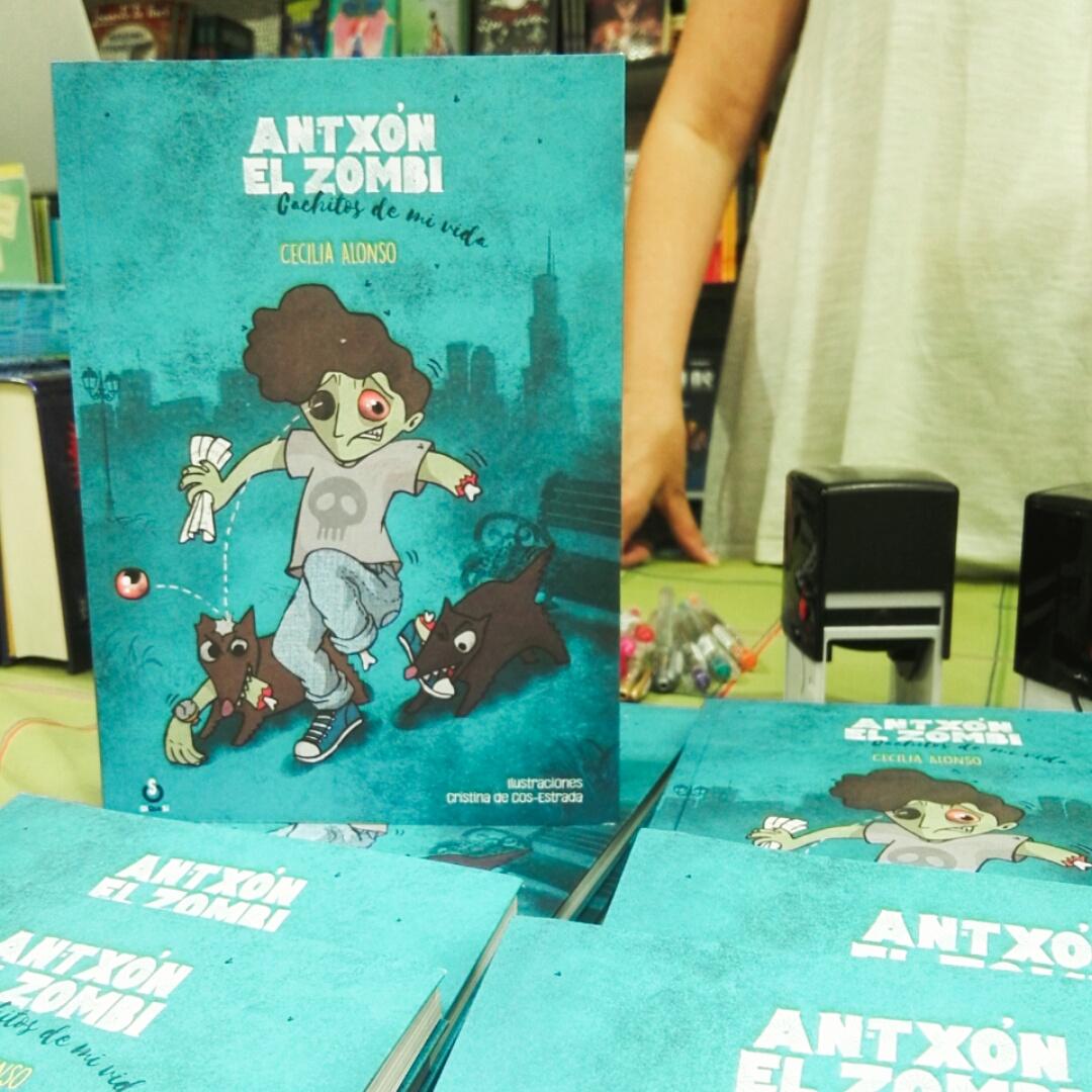 Booktrailer de Antxón, el zombi
